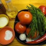Из чего готовят помидоры по-корейски