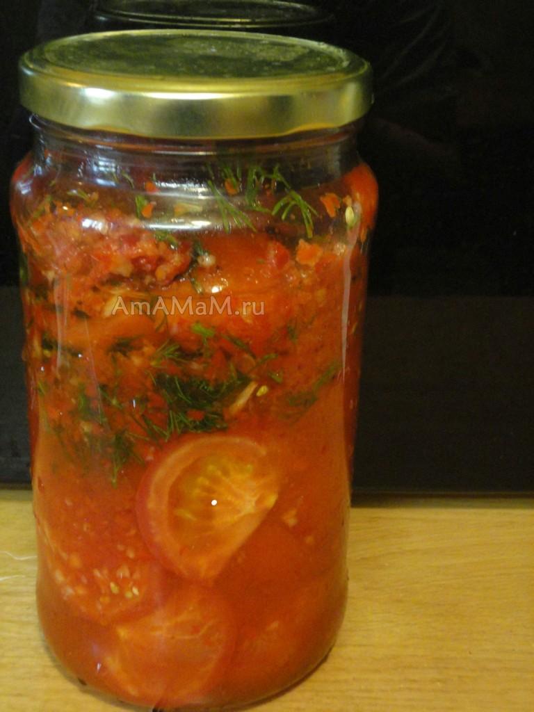 Что приготовить на скорую руку из помидоров - простой рецепт помидоров по-корейски