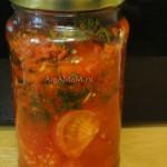 Маринованные помидоры на скорую руку - острые, сладкие