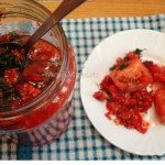 Рецепт закуски из помидоров по-корейски