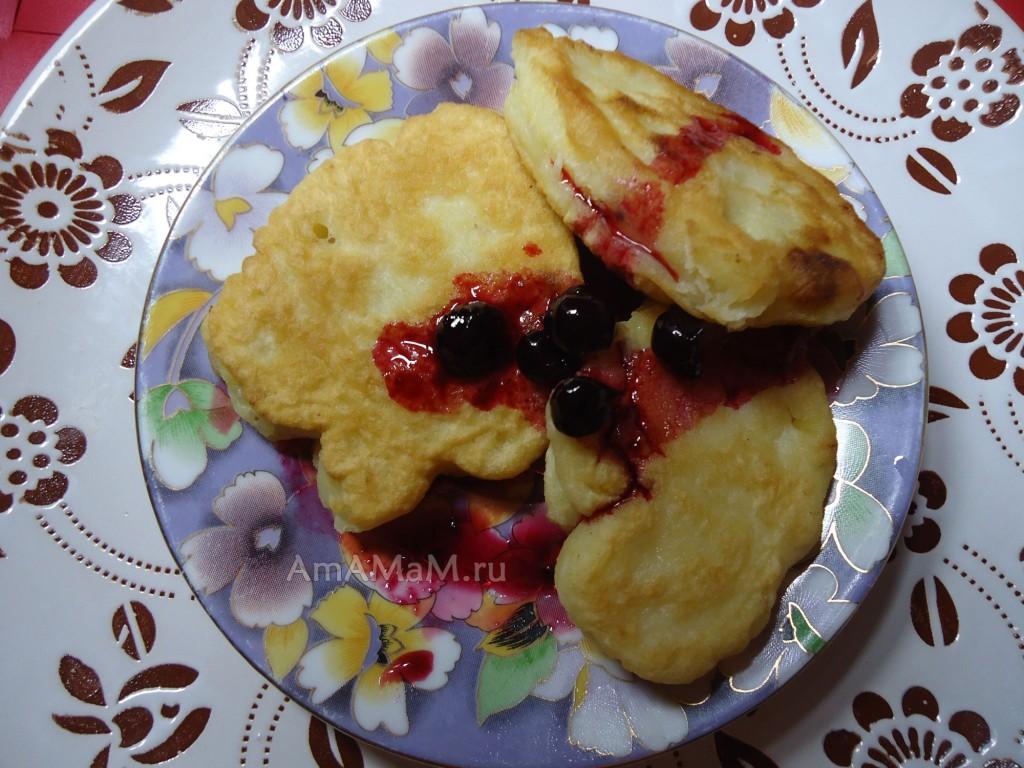 Что приготовить на завтрак на скорую руку - апельсиновые оладьи