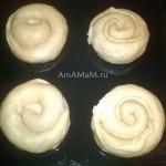 Приготовление яблочных улиток (булочки) - рецепт с фото