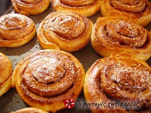 Рецепт сладких булочек к чаю и пошаговые фото приготолвения