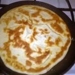 Жарим пироги на сковороде - печеные хычины