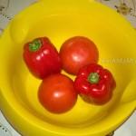 Рецепты с болгарским перцем и помидорами