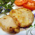 Сладкая свинина по-милански (в карамели с сыром)
