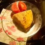 Что приготовить на ужин - блинный закусочный пирог - простой рецепт