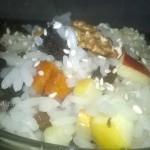 Рисовое коливо с фруктами -рецепт