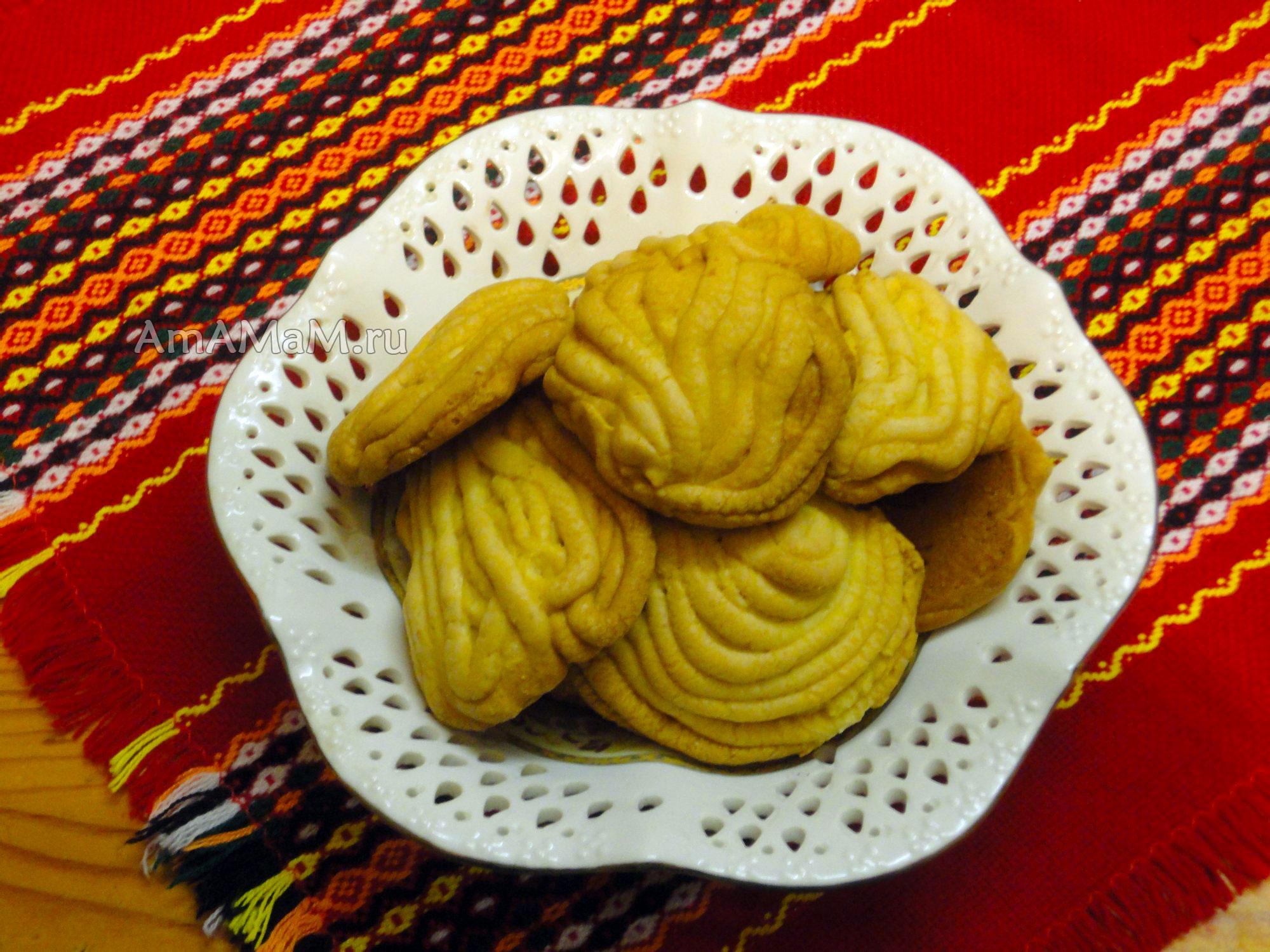 Вкусное печенье через мясорубку рецепт