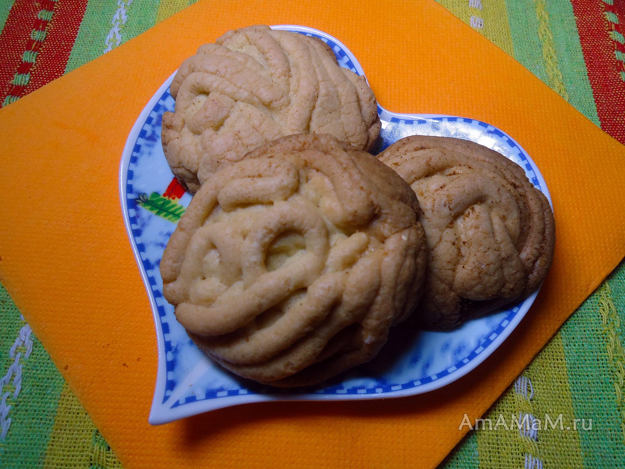 Рецепты песочного печенья через мясорубку
