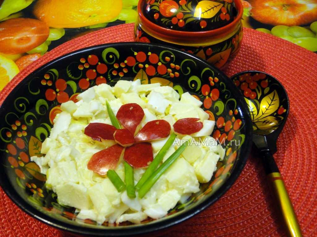 Рецепты с пекинской капустой и фото салатов
