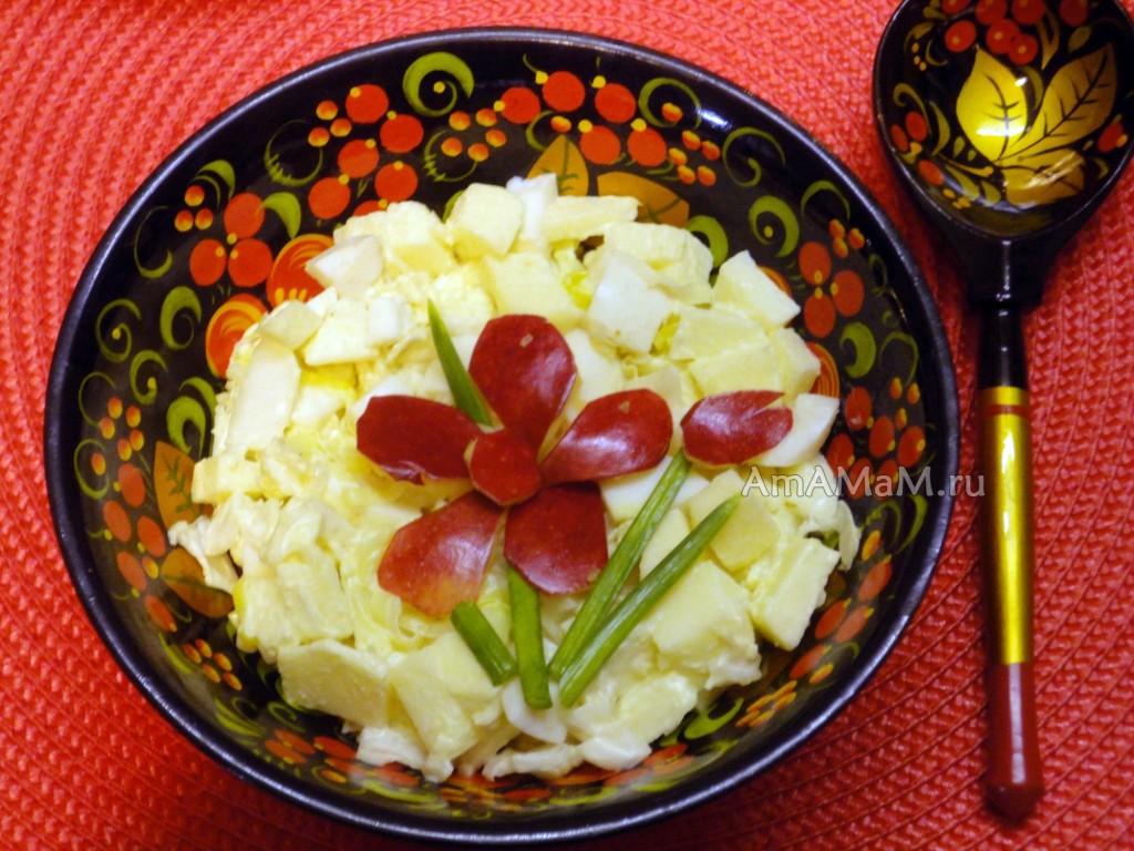 Рецепты простых и легких салатов на скорую руку