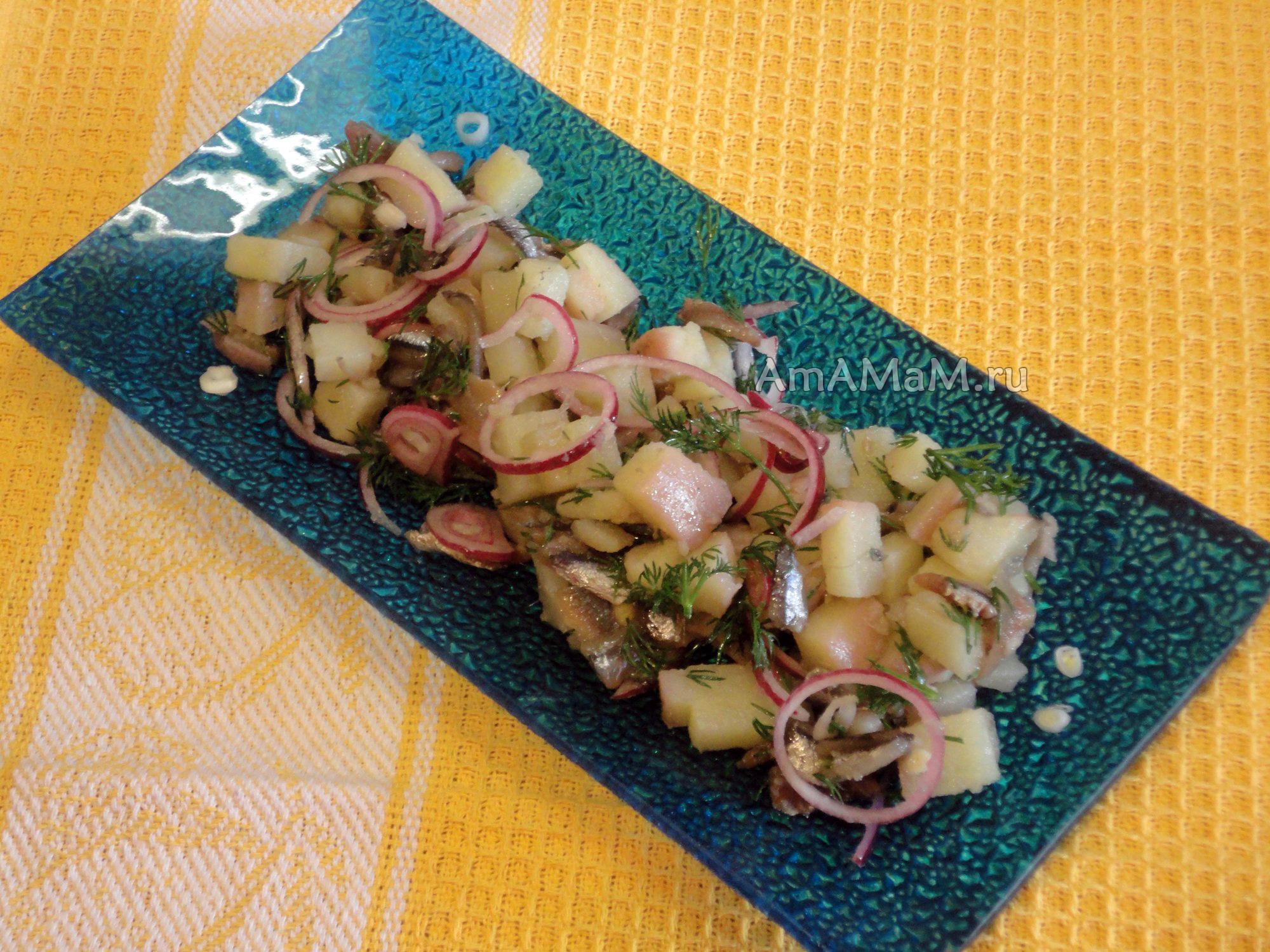 рыбный салат рецепт с фото очень вкусный с