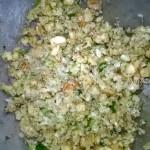 Пошаговые фото технологии приготовления капустного салата с грецкими орехами и изюмом