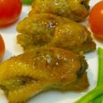 Куриные шейки, фаршированные гречневой кашей и грибами