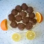 Приготовление тефтелек в апельсиновом соусе с имбирем
