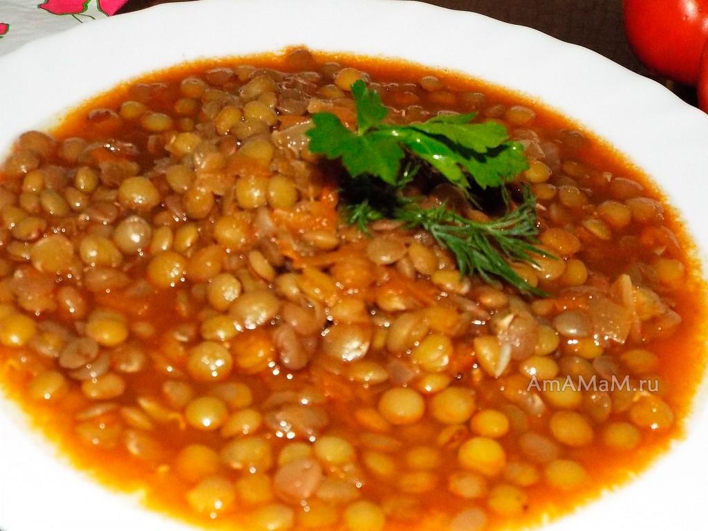 Рецепт похлебки из чечевицы - греческий рецепт