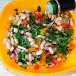 """Греческий салат из фасоли """"Мавроматика"""""""