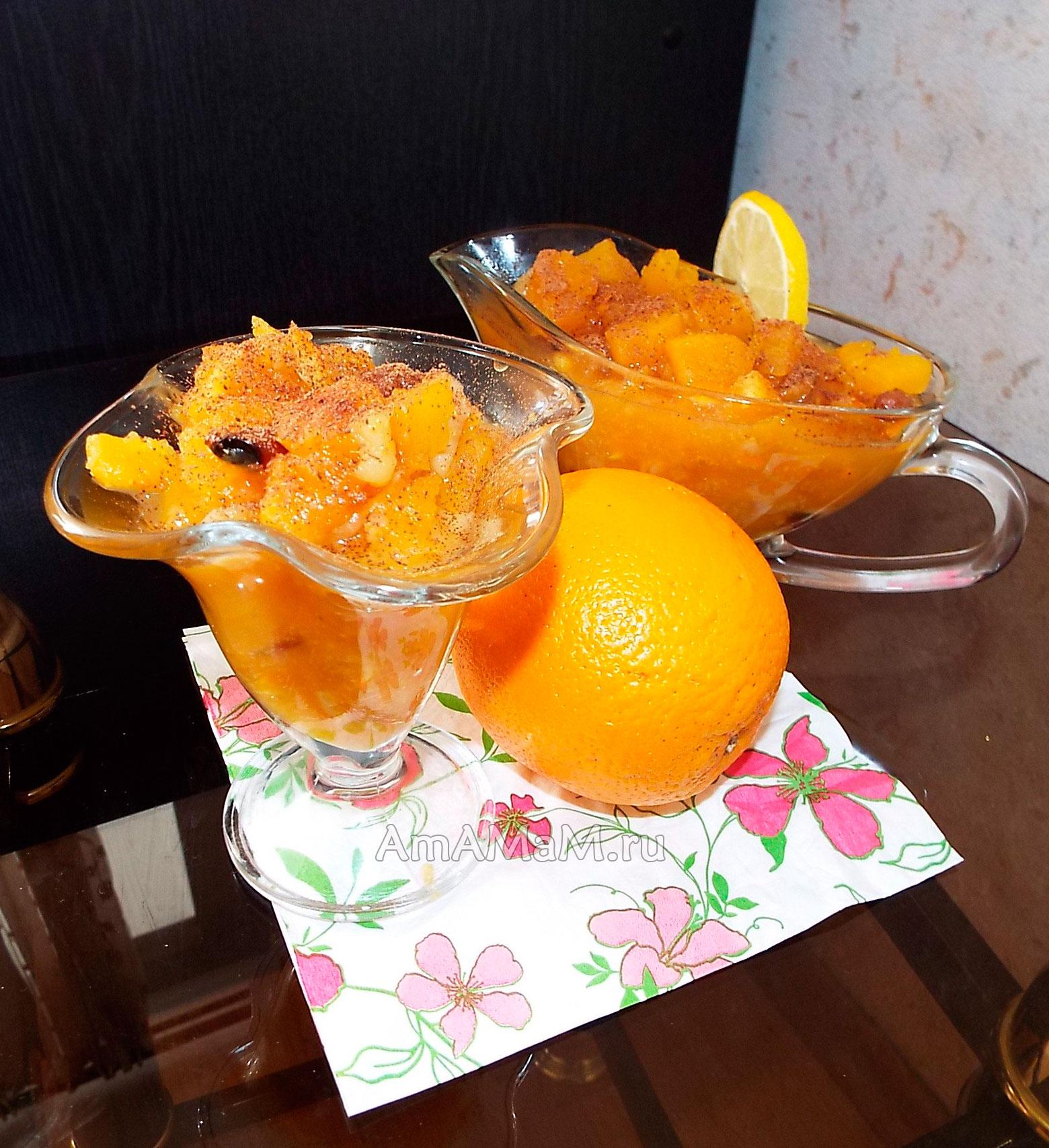 Рецепт постного десерта из тыквы — pic 1