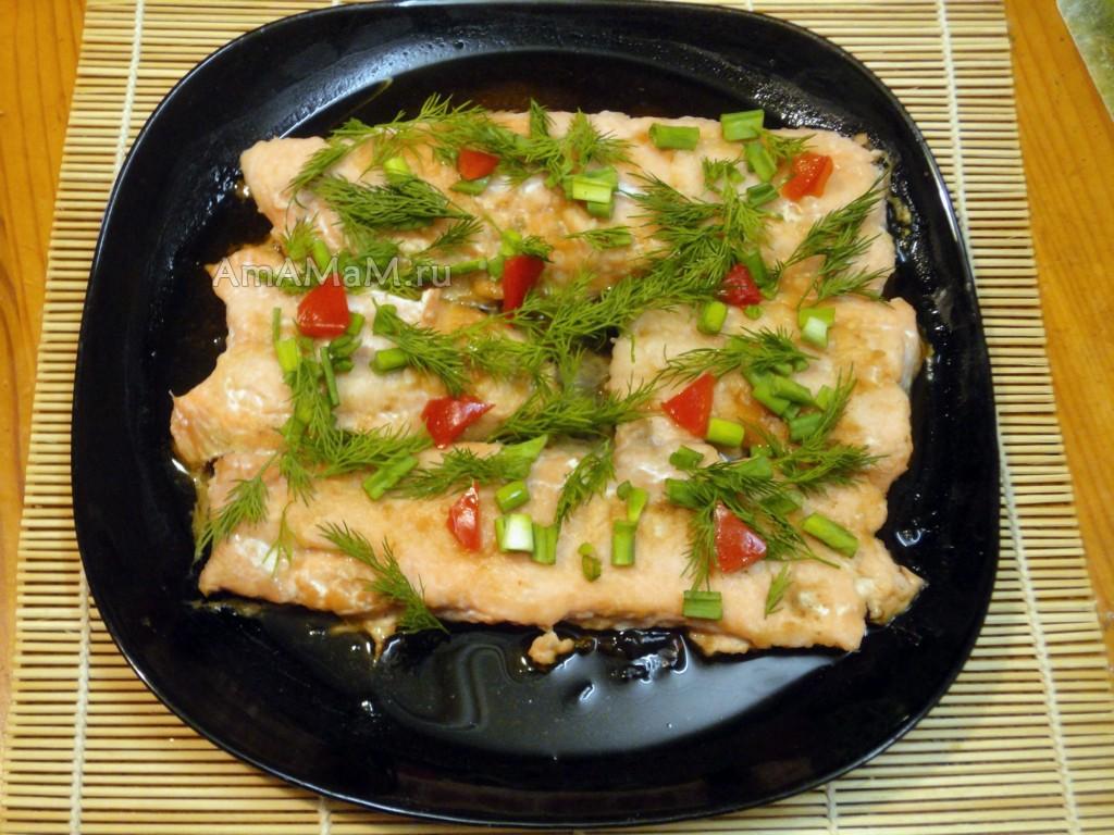 Вторые блюда из горбуши рецепты с фото