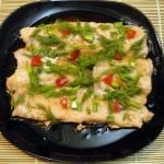 Филе горбуши в крахмале - рецепт для пароварки