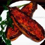 Вкусное постное блюдо из баклажанов с овощами