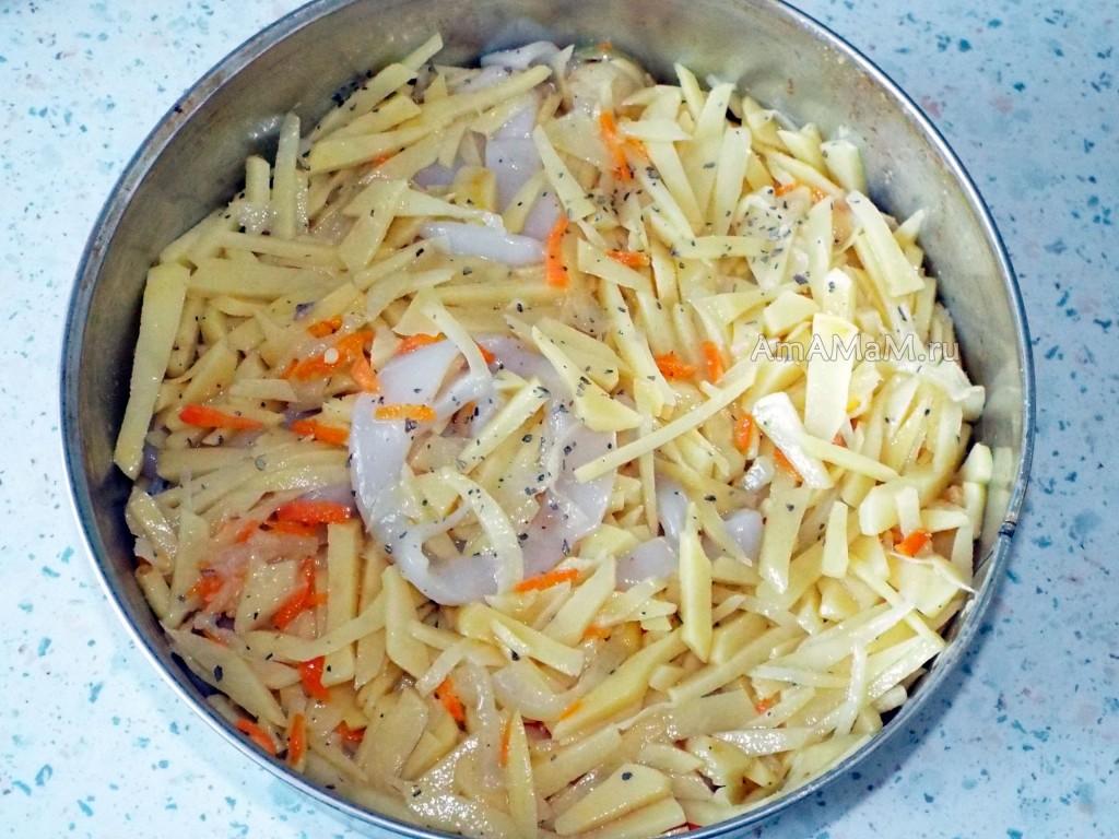 Кальмар рецепты с фото простые и вкусные