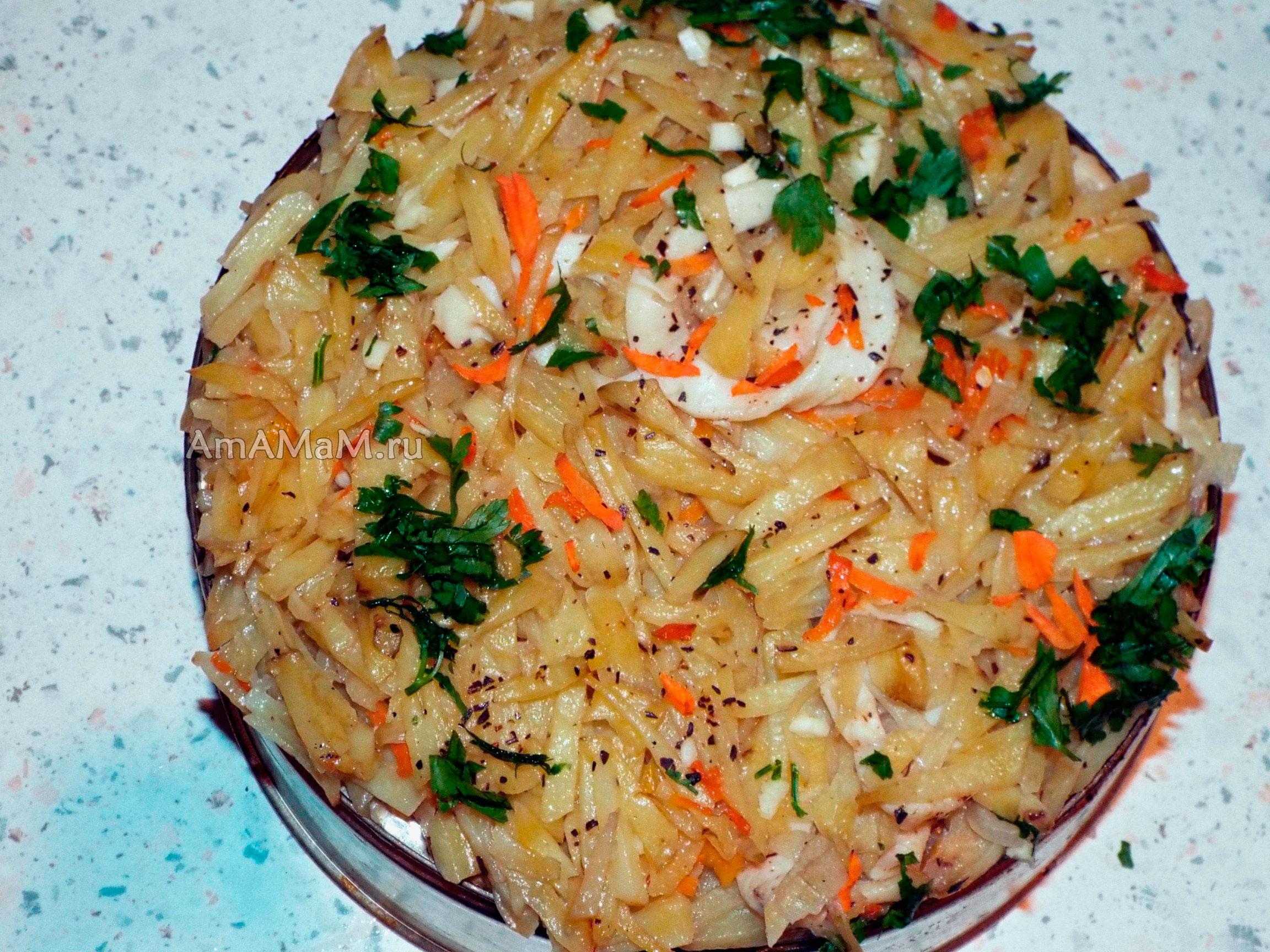 рецепт стерляди с картошкой в духовке с фото