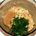 Рецепт картофеля с начинкой в духовке - постный