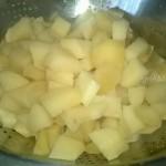 Как готовят картофельное тесто (постное)