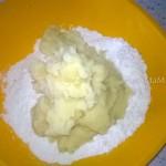 Из чего делают постное картофельное тесто - рецетп и способ приготовления