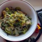 Состав и рецепт начинки из шампиньонов - рецепт пирога