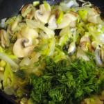 Рецепт грибной начинки с фото