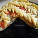 Рецепт и фото пирога из картофельного теста