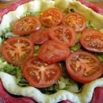 Состав грибного постного пирога и рецепт