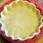 Как готовят открытый картофельный пирог с грибами - рецепт