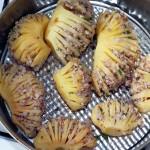 Как выглядит картофель, фаршированный орехами с гречневой кашей - фото и рецепт гребешков