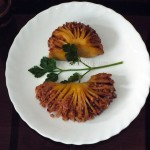 Картофель фаршированный (орехи, гречка) - рецепт с фото