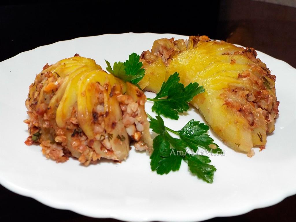 Вкусное и оригинальное блюдо из картофеля -= рецепт
