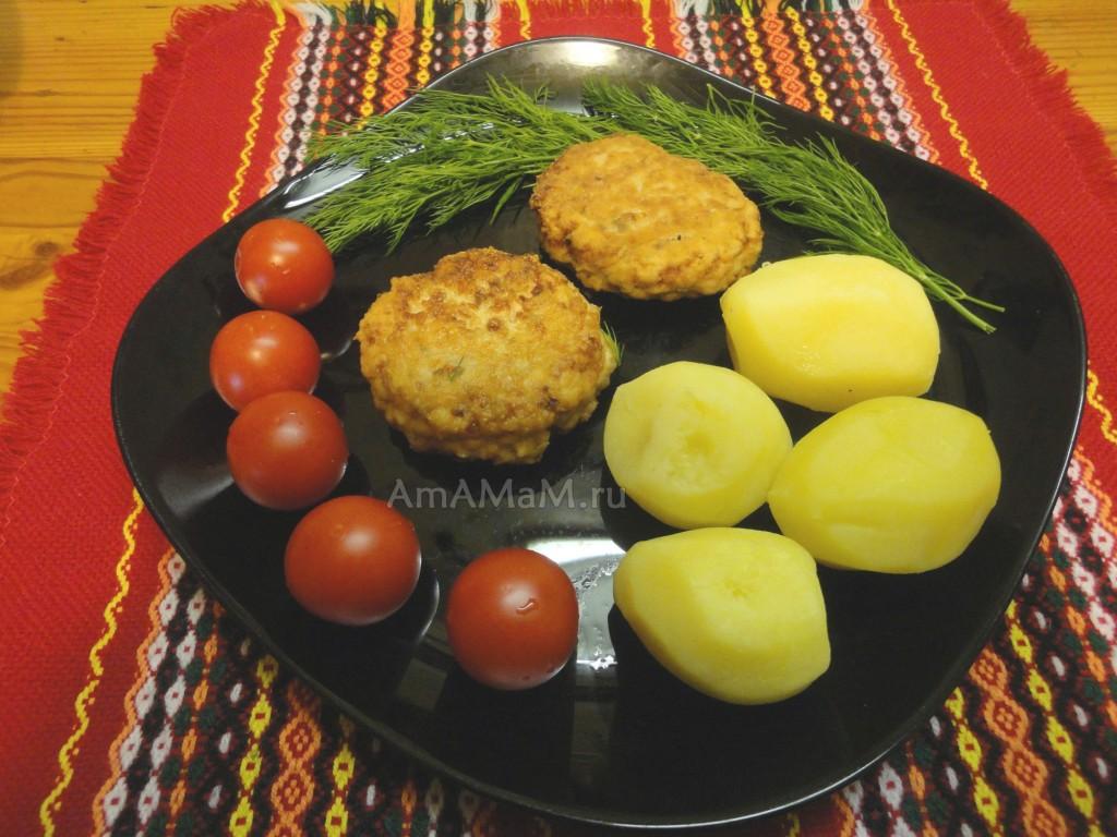 Рецепт рыбных котлет из горбуши и фото приготовления (пошаговые)