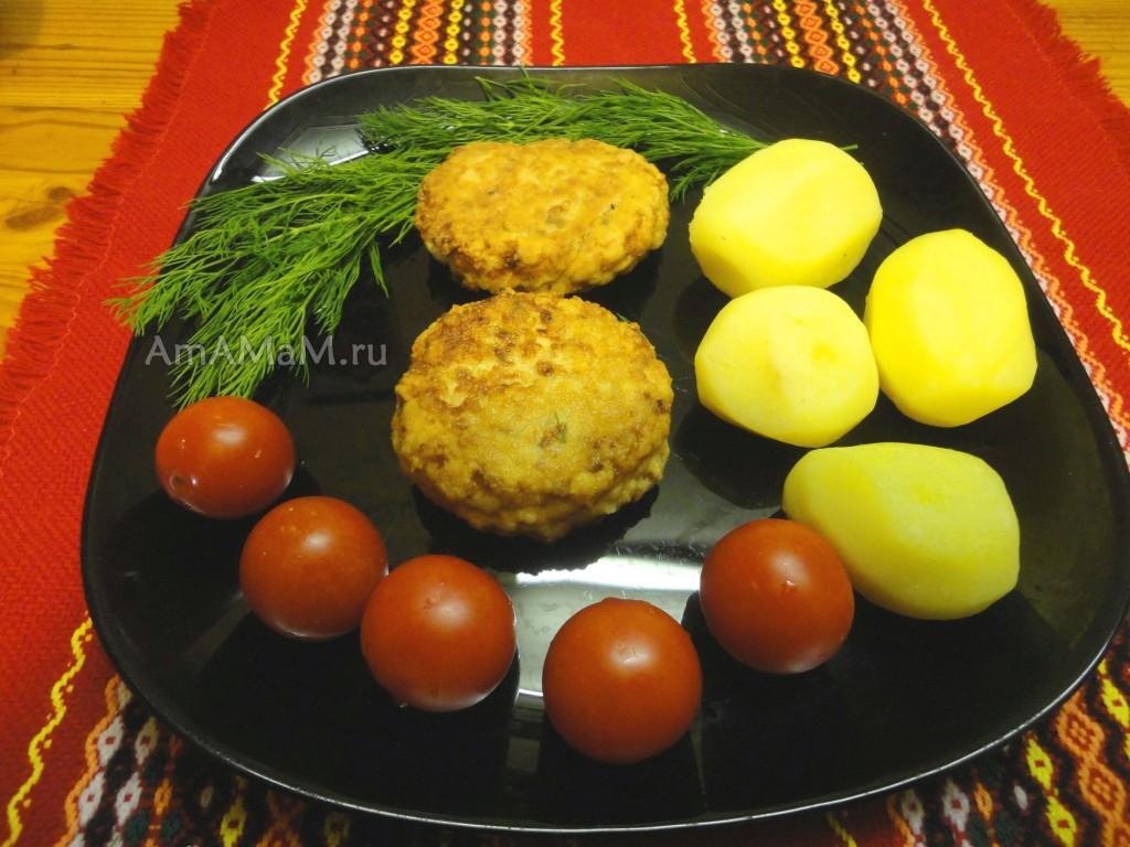 Горбуша - котлеты, способ и рецепт приготовления