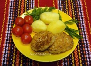 Котлеты из красной рыбы (горбуши) - рецепт