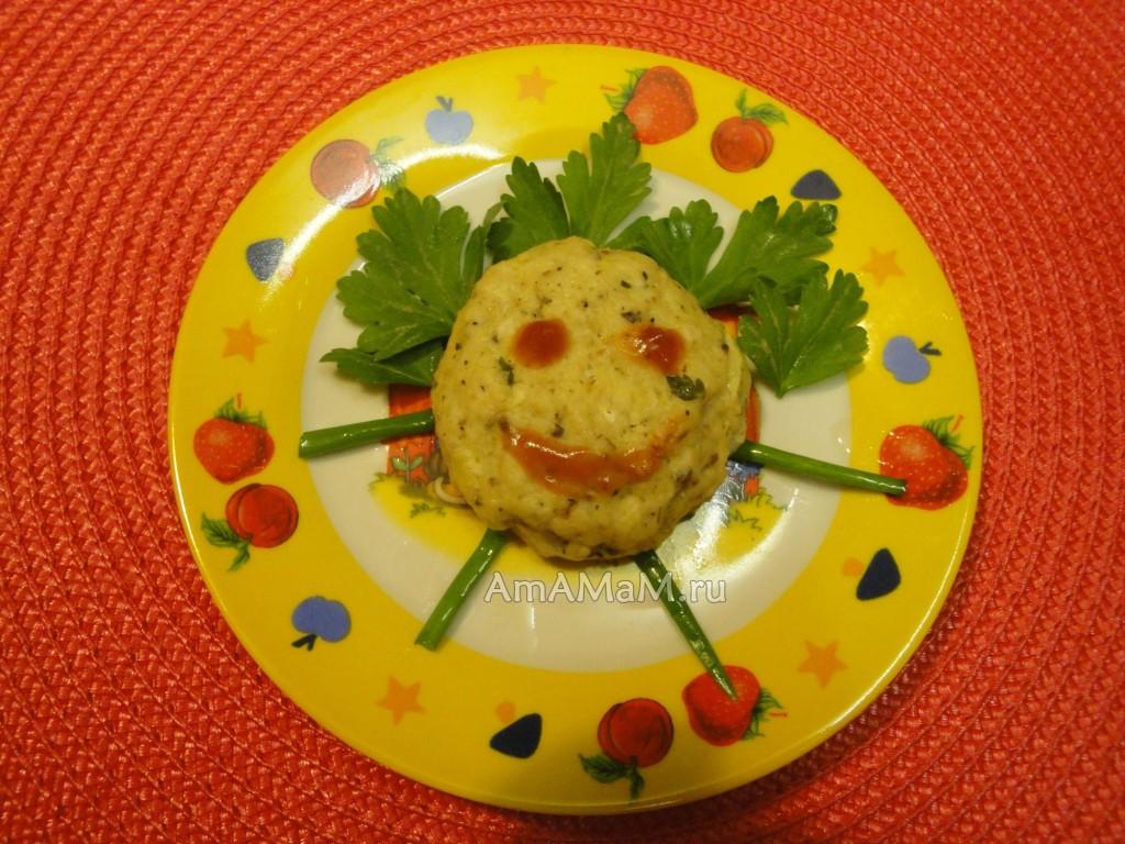 Рецепт вкусных котлет из рыбы для детей