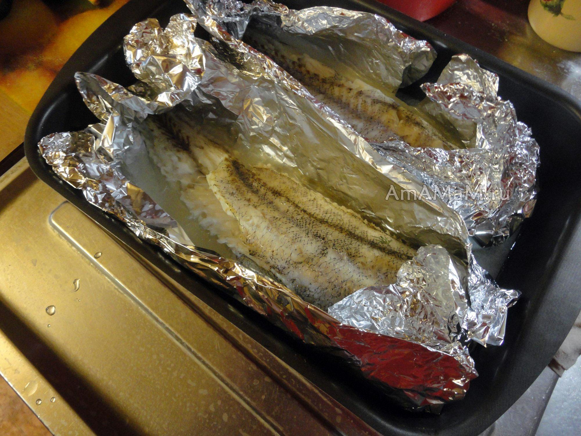 Картошка с рыбой в фольге в духовке рецепт пошагово