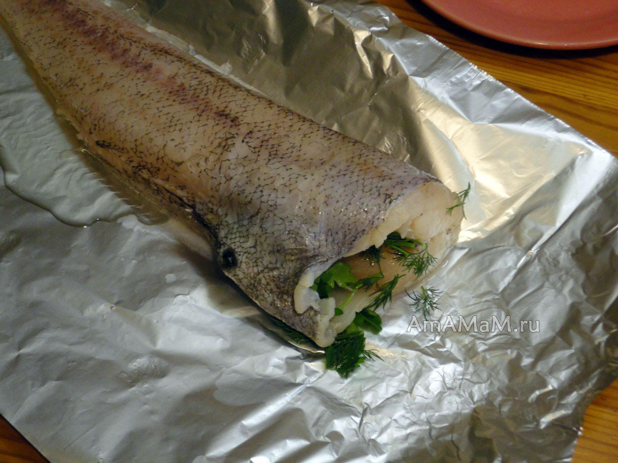 макрурус рыба рецепты в духовке с фото
