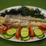 Рецепт рыбы макрурус в травах