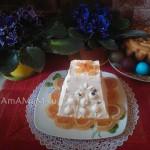 Фото домашней творожной пасхи - с рецептом