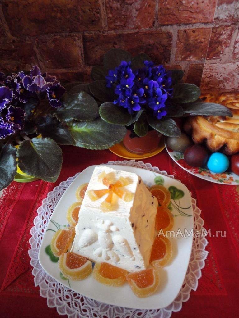 Рецепт приготовления пасхи с фото