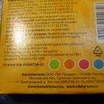 Упаковка фломастеров с пищевыми красителями - фото