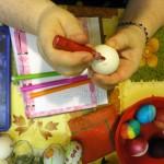 Готовимся к Пасхе - роспись яиц